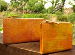 財布屋「幸せの貯まる財布」はファッション性を高めた開運財布