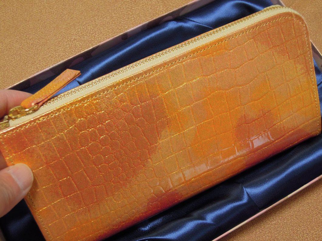 幸せの貯まる財布レジさっとGを手にして棚から牡丹餅ゲットしました